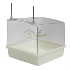 Bañera exterior de plástico...