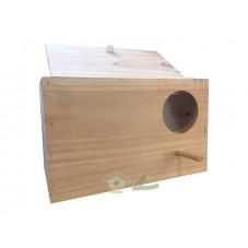 Nido de madera para Ninfa Horizontal