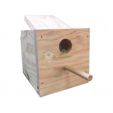 Nido madera para Mandarin