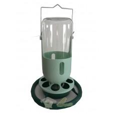 Comedero - Bebedero plastico hueco pequeño