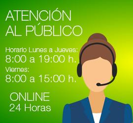Atencion al público